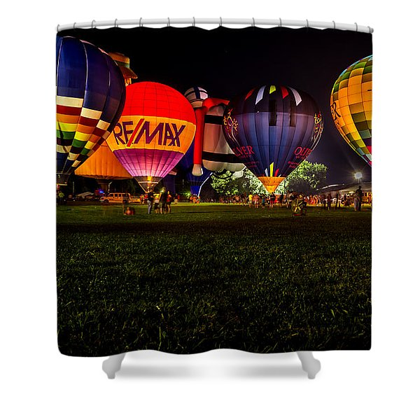 Night Glow Shower Curtain