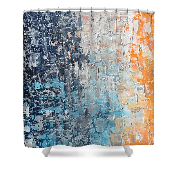 Night To New Day Shower Curtain