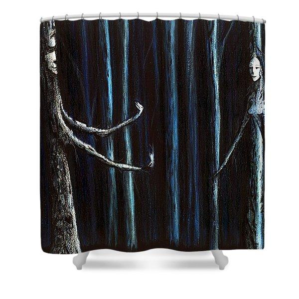 Nightfall Secret Shower Curtain