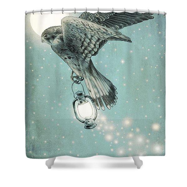 Nighthawk Shower Curtain