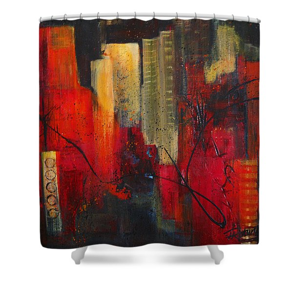 Nightscape Shower Curtain
