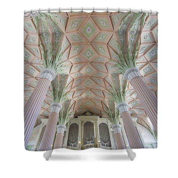 Nikolaikirche Leipzig Shower Curtain