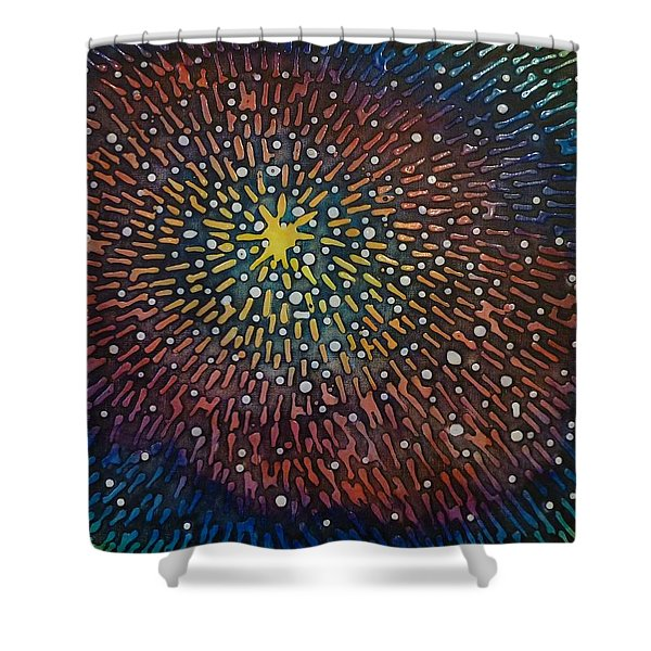 Nimoy Nebula Shower Curtain