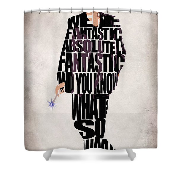 Ninth Doctor - Doctor Who Shower Curtain