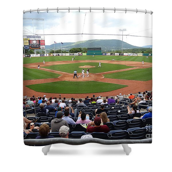Nittany Lion Baseball Field Shower Curtain