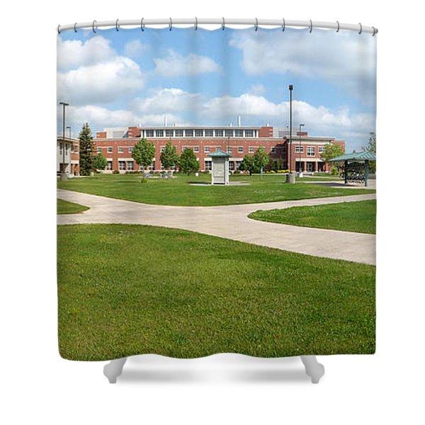 Northern Michigan University Shower Curtain