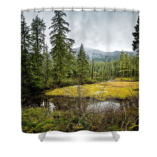 No Man's Land Shower Curtain