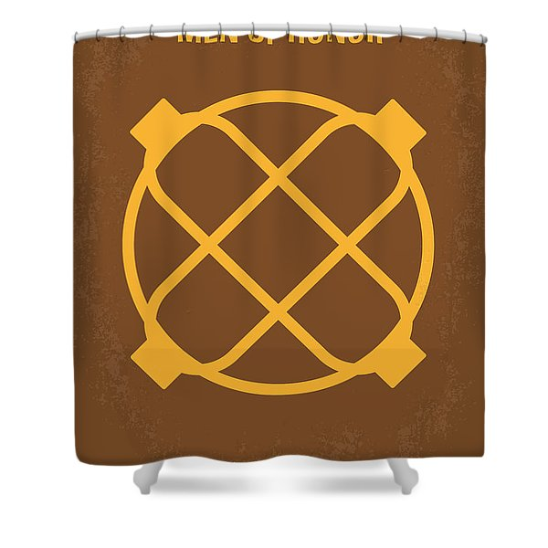 No099 My Men Of Honor Minimal Movie Poster Shower Curtain