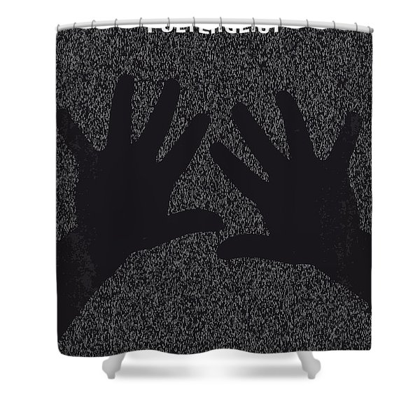 No266 My Poltergeist Minimal Movie Poster Shower Curtain
