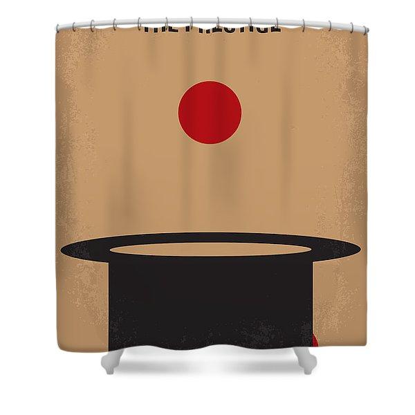No381 My The Prestige Minimal Movie Poster Shower Curtain