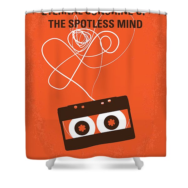 No384 My Eternal Sunshine Of The Spotless Mind Minimal Movie Pos Shower Curtain