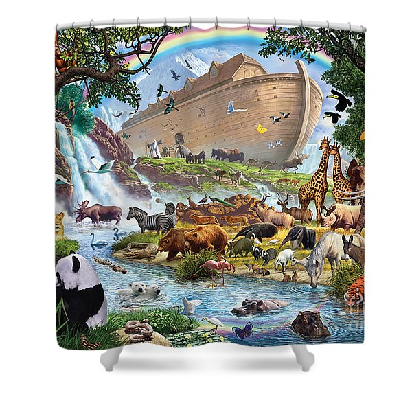 Noahs Ark - The Homecoming Shower Curtain