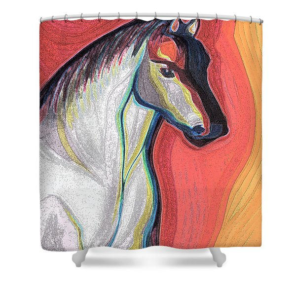 Noble By Jrr Shower Curtain