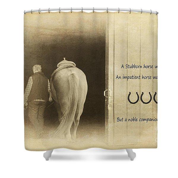 Noble Companion Shower Curtain