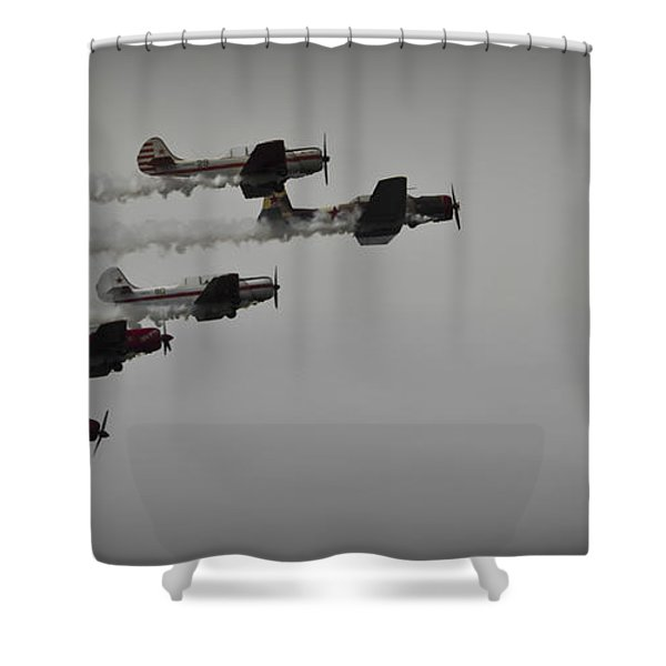 Norteast Raiders At The Greenwood Lake Airshow 2012 Shower Curtain