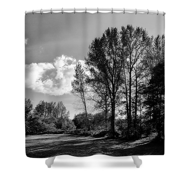 North Lions Park IIi Shower Curtain