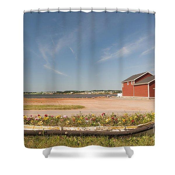 North Rustico Pei Shower Curtain
