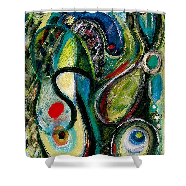 Northern Lights 2 Shower Curtain