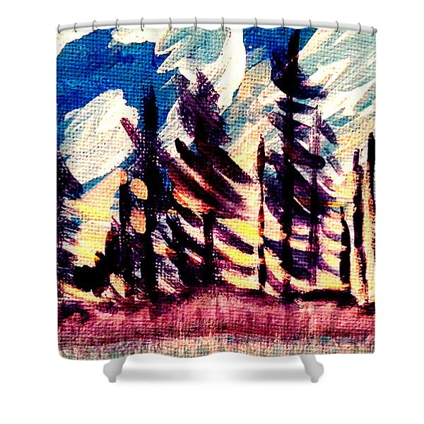 Northern Peace 2 Shower Curtain