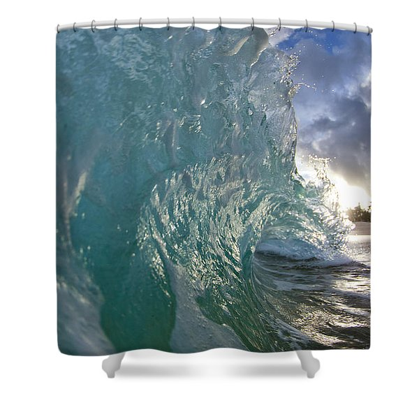 Coconut Curl Shower Curtain