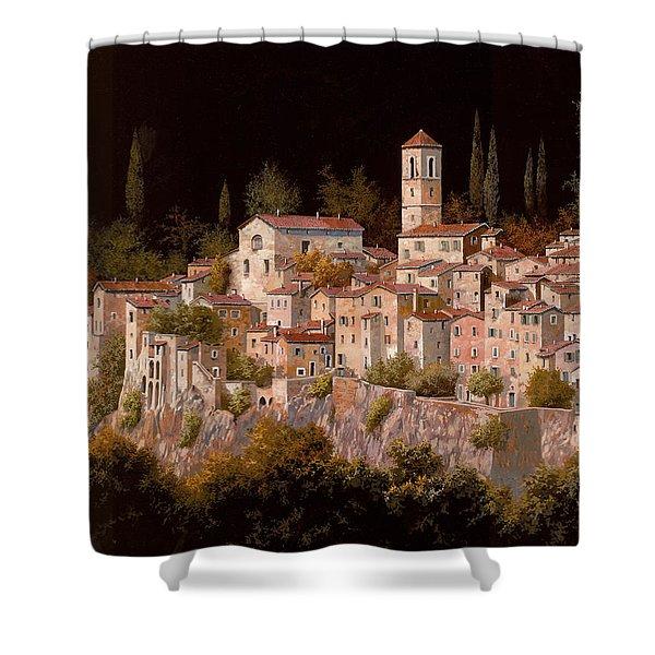 Notte Senza Luna Shower Curtain