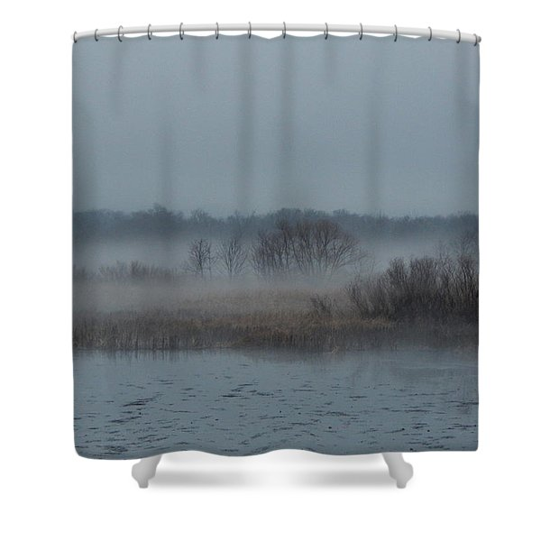 November Mist Shower Curtain