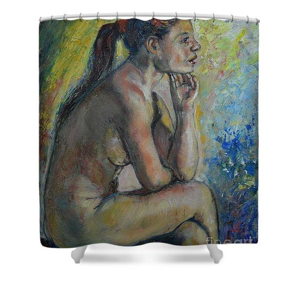 Nude Eva 2 Shower Curtain