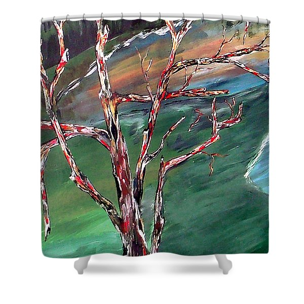 Nude In Nature Shower Curtain by Mark Moore