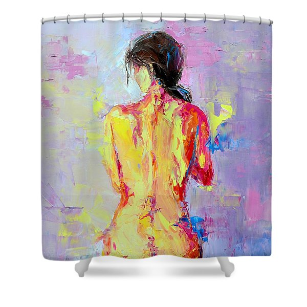 Nude Woman Figure No. 2 Shower Curtain