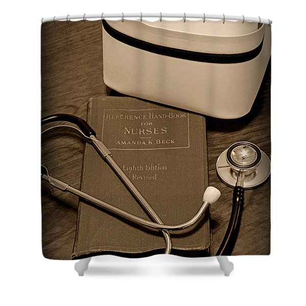 Nurse - The Care Giver Shower Curtain