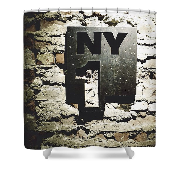 NY1 Shower Curtain