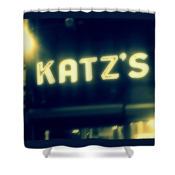 Nyc's Famous Katz's Deli Shower Curtain