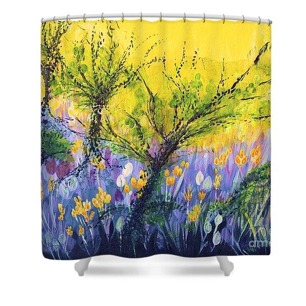 O Trees Shower Curtain