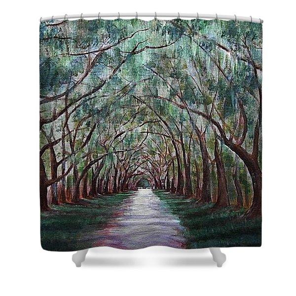 Oak Avenue Shower Curtain
