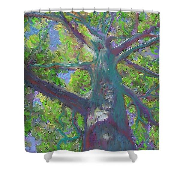 Oak Tree 1 Shower Curtain