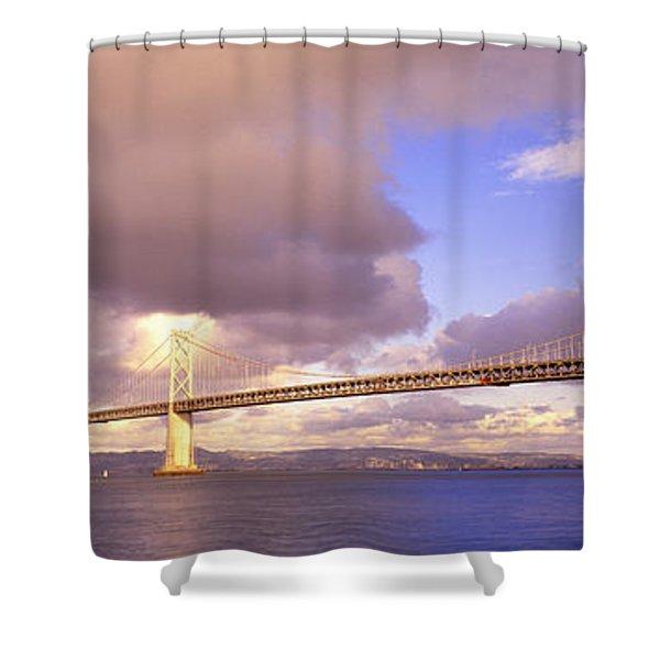 Oakland Bay Bridge San Francisco Shower Curtain
