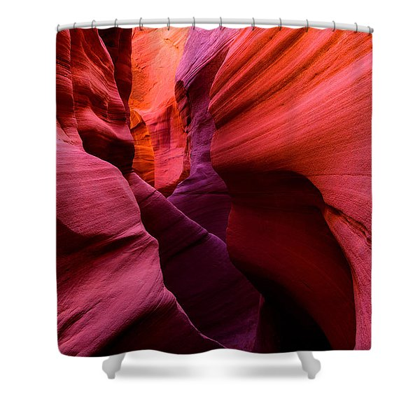 Obscure Escalante Shower Curtain