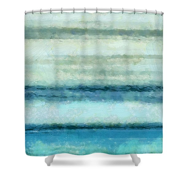 Ocean 4 Shower Curtain