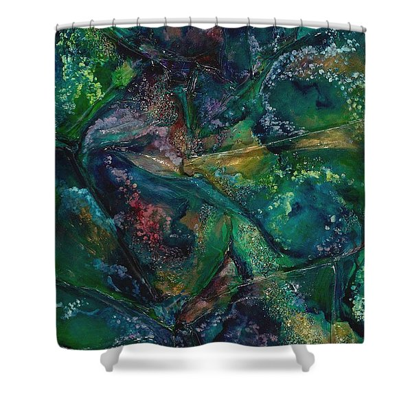 Ocean Floor Shower Curtain
