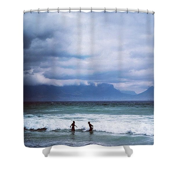 Ocean Play Shower Curtain