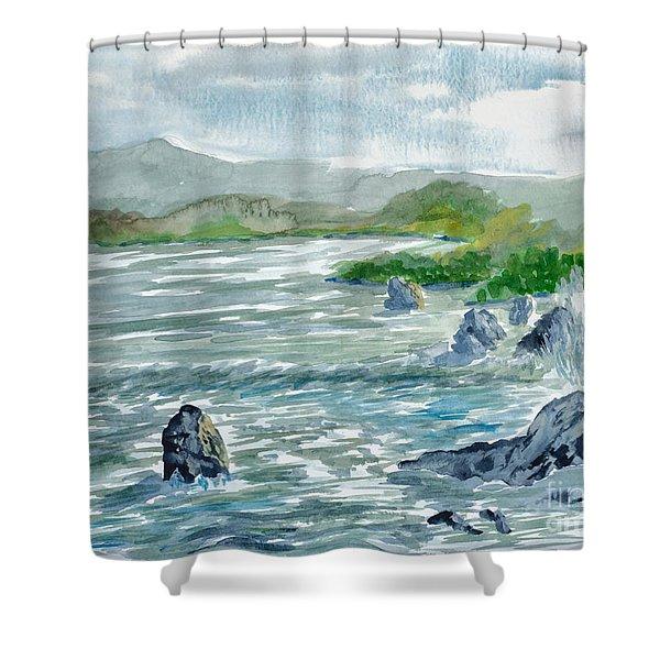 Ocean Spray Shower Curtain