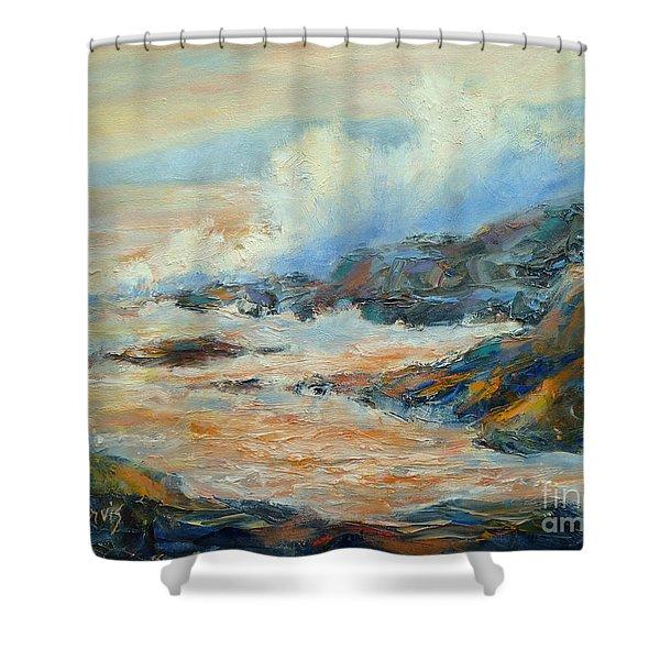 Ocean Surf Shower Curtain