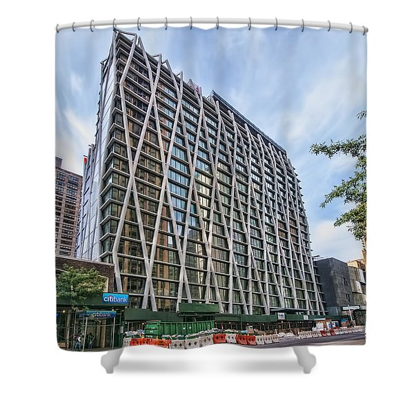 Oct 2014 Front View Shower Curtain