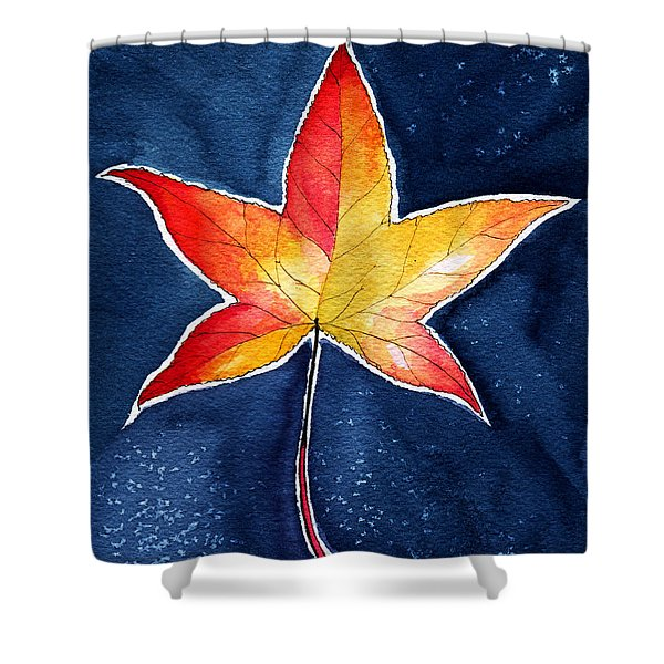 October Night Shower Curtain