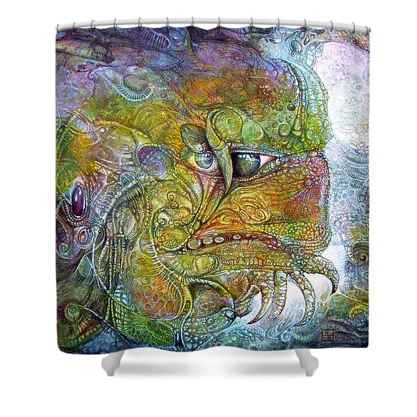 Offspring Of Tiamat - The Fomorii Union Shower Curtain