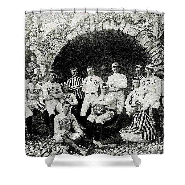 Ohio State Football Circa 1890 Shower Curtain