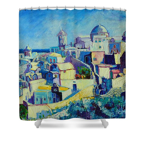 OIA Shower Curtain