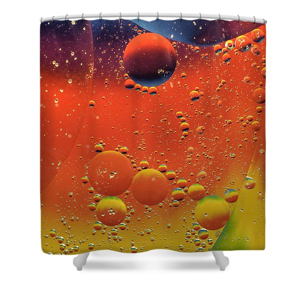 Oil And Water Shower Curtain