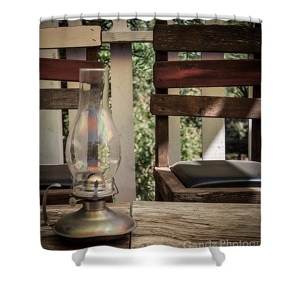 Oil Lamp 2 Shower Curtain