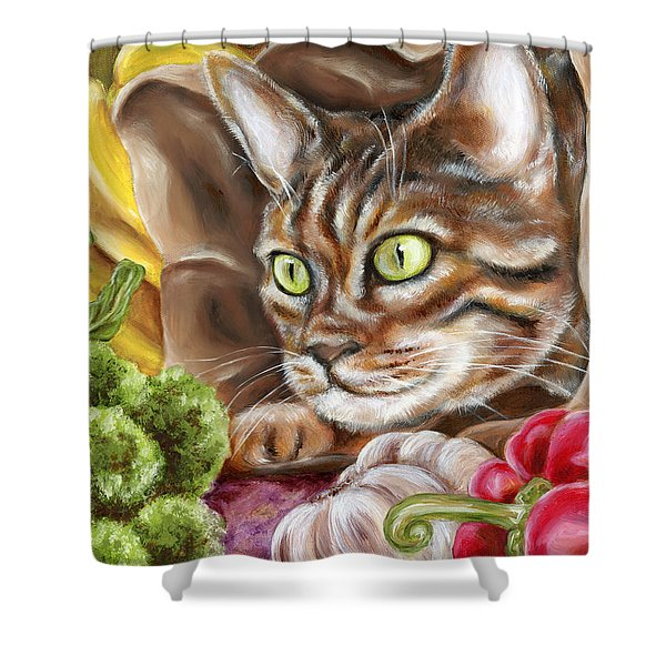 Ok Now What Shower Curtain